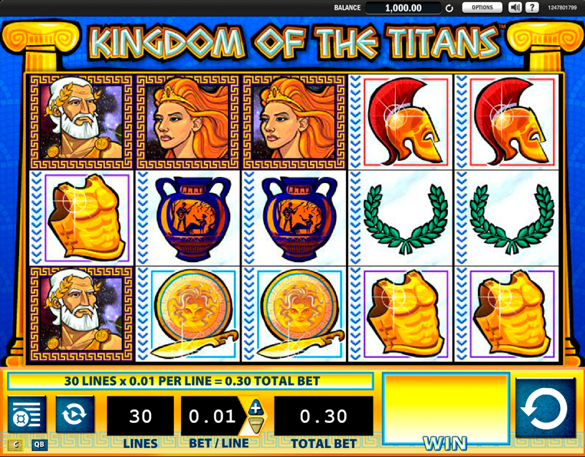 kingdom of the titans wms casino