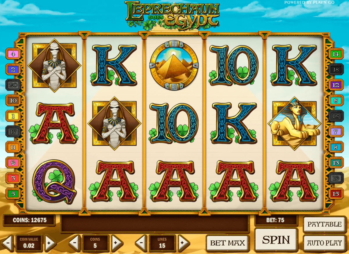 leprechaun goes egypt casino