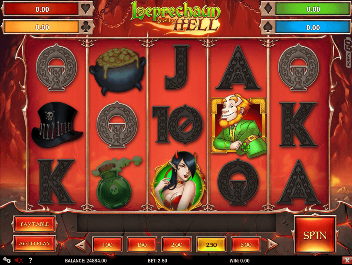leprechaun goes to hell playn go casino