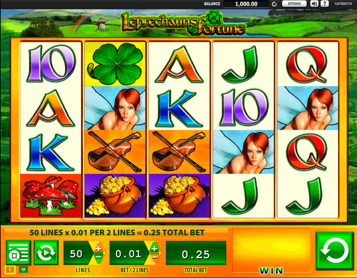 leprechauns fortune wms casino
