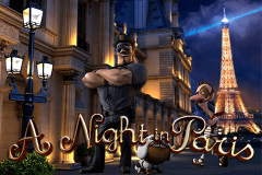 logo a night in paris betsoft kolikkopeli
