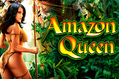 logo amazon queen wms kolikkopeli