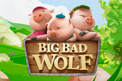 logo big bad wolf quickspin kolikkopeli
