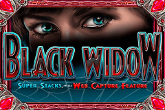 logo black widow igt kolikkopeli