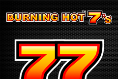 logo burning hot sevens novomatic kolikkopeli