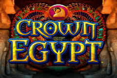 logo crown of egypt igt kolikkopeli