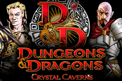 logo dungeons and dragons crystal caverns igt kolikkopeli