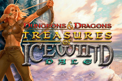 logo dungeons and dragons treasures of icewind dale igt kolikkopeli