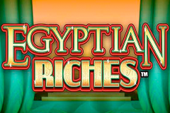 logo egyptian riches wms kolikkopeli