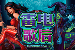 logo electric diva microgaming kolikkopeli