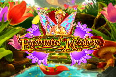 logo enchanted meadow playn go kolikkopeli