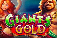 logo giants gold wms kolikkopeli