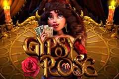 logo gypsy rose betsoft kolikkopeli
