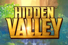 logo hidden valley quickspin kolikkopeli