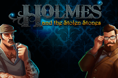 logo holmes and the stolen stones kolikkopeli