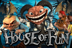 logo house of fun betsoft kolikkopeli
