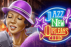 logo jazz of new orleans playn go kolikkopeli