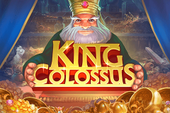 logo king colossus quickspin kolikkopeli