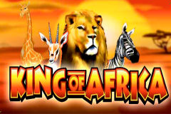 logo king of africa wms kolikkopeli