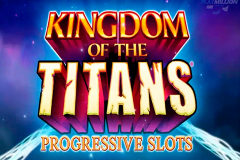 logo kingdom of the titans wms kolikkopeli