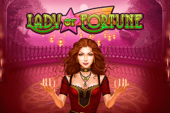 logo lady of fortune playn go kolikkopeli
