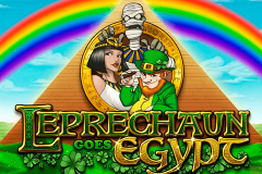 logo leprechaun goes egypt playn go kolikkopeli