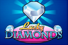 logo lucky diamonds playn go kolikkopeli