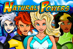 logo natural powers igt kolikkopeli