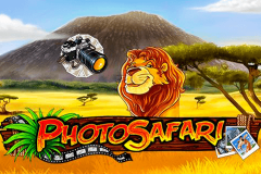 logo photo safari playn go kolikkopeli