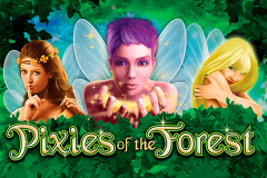 logo pixies of the forest igt kolikkopeli