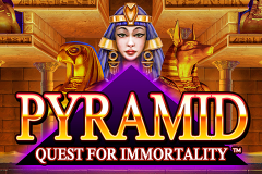 logo pyramid quest for immortality netent kolikkopeli