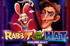 logo rabbit in the hat microgaming kolikkopeli