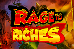 logo rage to riches playn go kolikkopeli