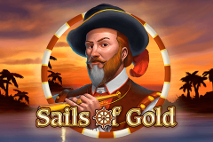 logo sails of gold playn go kolikkopeli