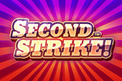 logo second strike quickspin kolikkopeli