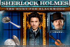 logo sherlock holmes the hunt for blackwood igt kolikkopeli
