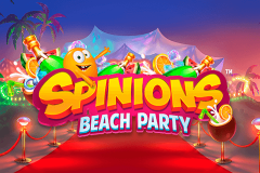 logo spinions beach party quickspin kolikkopeli