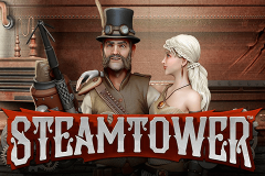 logo steam tower netent kolikkopeli