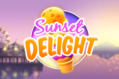 logo sunset delight thunderkick kolikkopeli