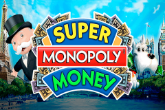 logo super monopoly money wms kolikkopeli