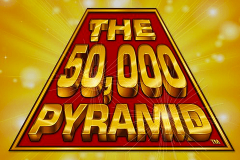 logo the 50000 pyramid igt kolikkopeli