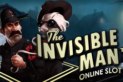 logo the invisible man netent kolikkopeli