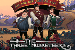 logo the three musketeers quickspin kolikkopeli
