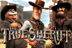 logo the true sheriff betsoft kolikkopeli