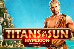 logo titans of the sun hyperion microgaming kolikkopeli