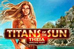 logo titans of the sun theia microgaming kolikkopeli
