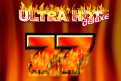 logo ultra hot deluxe novomatic kolikkopeli