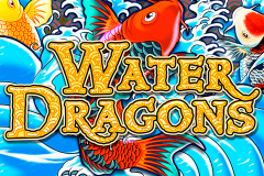 logo water dragons igt kolikkopeli