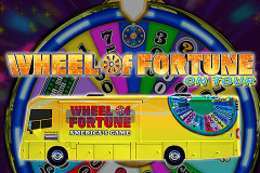 logo wheel of fortune on tour igt kolikkopeli
