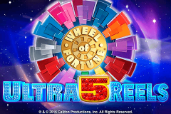 logo wheel of fortune ultra 5 reels igt kolikkopeli
